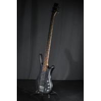 Warwick  Rock Bass Corvette 4 String Black Bass Guitar