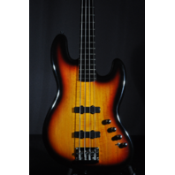 Squier By Fender Deluxe Active Jazz Bass IV String 3 Tone Sunburst