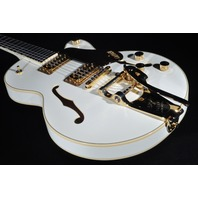 Gretsch G6659TG  White Broadkaster Jr Guitar Lmt Ed. W/Gold Hardware