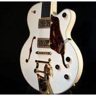 Gretsch G6659TG  White Broadkaster Jr Guitar Lmt Ed. W/Gold Hardware