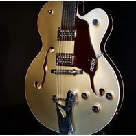 Gretsch G6118T-135TH Pro Anniversary 2-Tone Casino Gold/Dark Cherry Metallic Guitar 2018