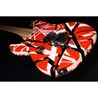 EVH Stripe Series Lefty Red/Black/White Guitar 2018