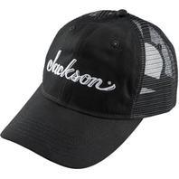 Jackson Trucker Cap Hat Black