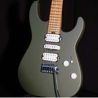 Charvel DK24  HSH Pro Mod 2PT MPL Army Drab Caramelized Fretboard Electric Guitar