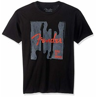 Fender Built to Inspire Mens Tee Black XXL
