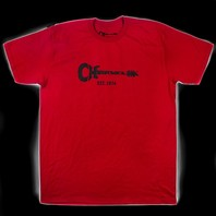 Charvel Guitar Logo Tee Red M