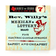 3-Pack Rev Willy's Mexican Lottery Billy Gibbons Signature Guitar Strings 07-38