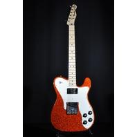 Fender Classic Series '72 Telecaster Custom Electric Guitar Orange Sparkle W/Gig Bag