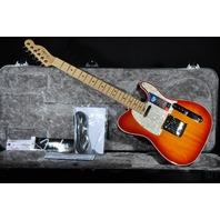 Fender American Elite Telecaster  Aged Cherry Burst Guitar Mint W/Hardshell