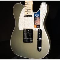 Fender American Elite Telecaster Satin Jade Pearl Metallic Guitar Mint W/Hardshell