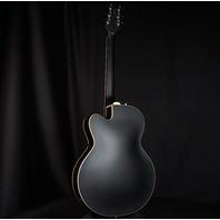 Gretsch G100CE Flat Black Synchromatic Archtop AC/EL Guitar