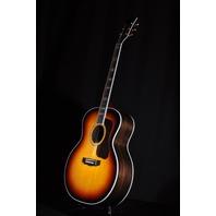 Guild USA F55  Antique Burst Jumbo Acoustic Guitar W/Hardshell Case