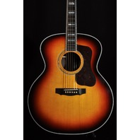 Guild USA F55  Antique Burst Jumbo Acoustic Guitar W/Hardshell Case