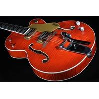 Gretsch G6120SSL NV  Lacquer Flamed Brian Setzer Nashville Guitar Hardshell Included