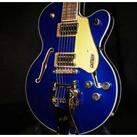 Gretsch G5655TG Electromatic CB Jr. w/Bigsby Azure Metallic Guitar CYGC18110271