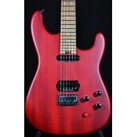 Charvel Justin Aufdemkampe Pro Mod  SD24 HT Trans Red Electric Guitar