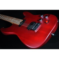 Charvel Justin Aufdemkampe Pro Mod  SD24 HT Trans Red Electric Guitar