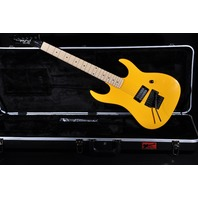 B.C. Rich Gunslinger Yellow W/Real Dimarzio Real Floyd Rose and Hardshell case
