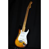 Fender Eric Johnson Thinline Stratocaster Sunburst Maple Neck 2018