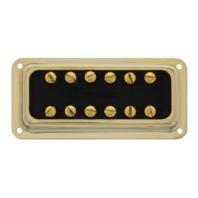 Tv Jones Classic DeArmond Mount Gold Bridge Pickup (FTB-DAGLD)