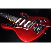 Fender Ltd Edition Jaguar Strat Guitar Candy Apple Red W/Hardshell Case