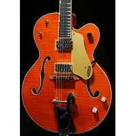 Gretsch G6120SSL NV  Lacquer Flamed Brian Setzer Nashville Guitar Mint 2018