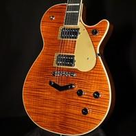 Gretsch G6228FM Players Edition Jet BT Bourbon Flame Guitar JT19052088