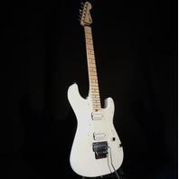 Charvel SC1 Pro Mod  SC1 HH Floyd Rose Snow White Guitar Parchment Pickguard