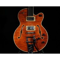 Gretsch G6659TFM  Bourbon Flame JR Players Edition Broadkaster Guitar