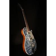 Gretsch G6129T-PE Players Edition Light Blue Pearl Jet Guitar Lmt. Ed.