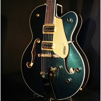 Gretsch G5420TG Cadillac Green Metallic Electromatic Guitar W/Gold Hardware