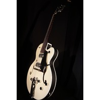 Gretsch G6118T-LIV Ivory Anniversary Players Edition Electric Hollow Body Guitar