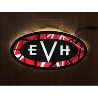EVH Logo LED Limited Edition Sign Lights Up