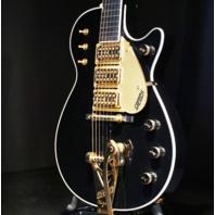 Gretsch USA Custom Shop G6128CS '59 Triple Jet Triple Black 3-Pickup Guitar