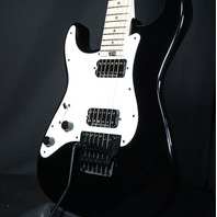 Charvel SC1 HH Pro Mod  LH Floyd Rose Gloss Black Guitar MC202161