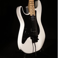 Charvel SC1 HH Pro Mod  LH Floyd Rose Snow White Lefty Guitar