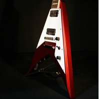 Jackson Signature Scott Ian King V KVXT Candy Apple Red Guitar
