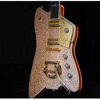 Gretsch USA Custom Shop Billy Bo Falcon Champagne Sparkle Heavy Relic Guitar