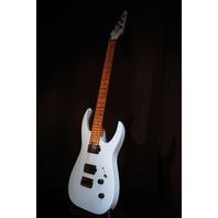 Jackson USA Mansoor Juggernaut HT6 Satin Daphne Blue Guitar W/Hardshell Case