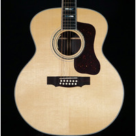 Guild USA F-512E Natural Jumbo 12 String Acoustic/Electric Guitar Actual Guitar