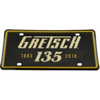 Gretsch 135Th Anniversary License Plate 922-575-8135