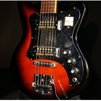 Teisco MIJ Electric Guitar W/Original Hardshell Case