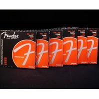 Fender 7250L Bass Guitar Strings Long Scale 40-100  (6 Packs)