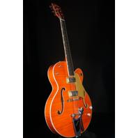 Gretsch G6120SSL NV  Lacquer Flamed Brian Setzer Nashville Guitar Mint 2018