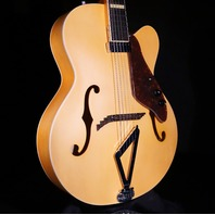 Gretsch G100CE Flat Natural Synchromatic Archtop AC/EL Guitar 2018