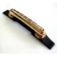 Gretsch  Rocking Bar Bridge Gold W/Ebony Base  PN:0062845000