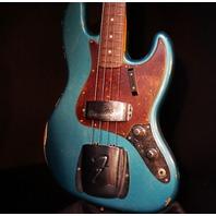 Fender Custom Shop 2017 Lmt Namm 60's J Bass Relic Antique Ocean Turquoise