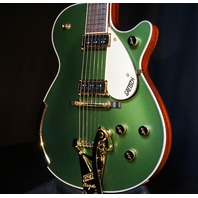 Gretsch USA G6128CS Custom '57 Cadillac Green Duo Jet Guitar