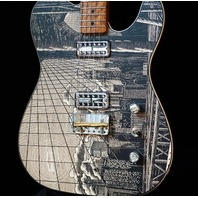 Fender Custom Shop Telecaster Master Built Ron Thorn Woodblock Print Guitar