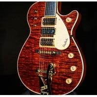Gretsch USA Custom Shop G6128CS Triple Jet Burled Flamed Top 3-Pickup Guitar